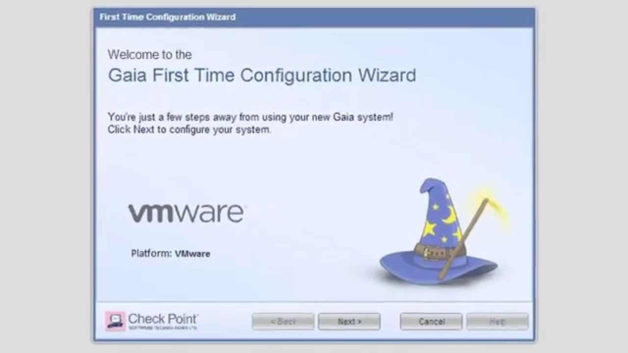 First Time Wizard for R77 x Endpoint Security Server