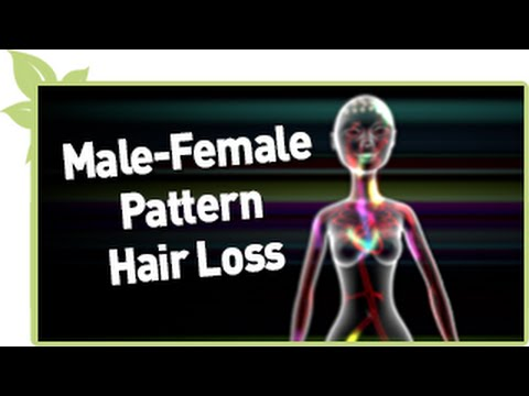 Male & Female Pattern Natural Hair Loss