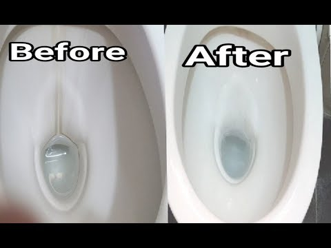 चमकता हुआ Toilet  पाने का आसान तरीका |  How To Remove  Hard Water Stains From Toilet Bowl