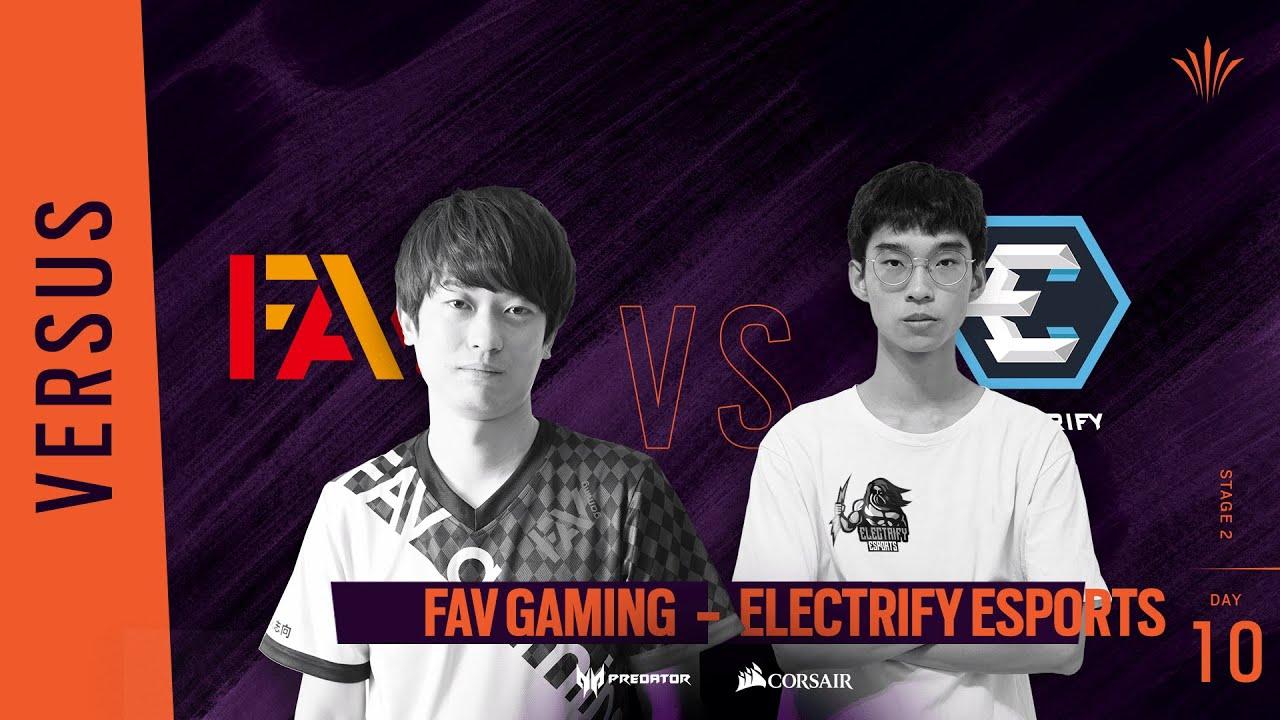 FAV Gaming vs Electrify // Rainbow Six APAC North Division 2020 - Stage 2 - Playday #10
