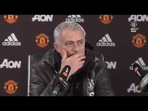 LUKE SHAW WILL PLAY   Jose Mourinho's Pre Match Press Conference   Manchester United vs Bournemouth