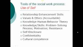 what is the definition of social work