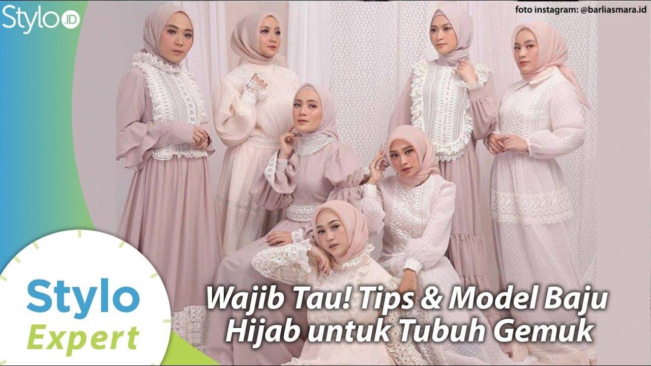 Model Baju Muslim Hijab & Gaya untuk Badan Gemuk ala Desainer Indonesia  Barli Asmara  Stylo.ID