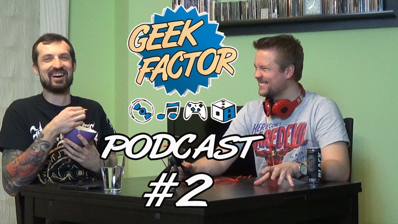 Geek Factor Podcast #2 – Bitwa o Polskę i Essen [+16]