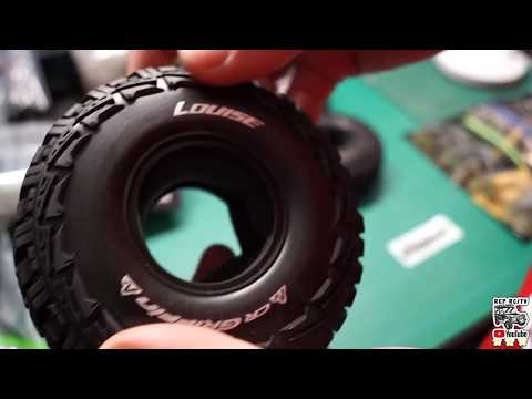 Louise Cr Griffin 1.9, Crawler Tires Unboxing En Español By RCP RC/TV