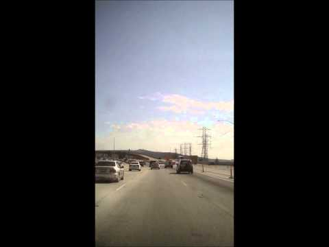 California Rush Hour Time-Lapse