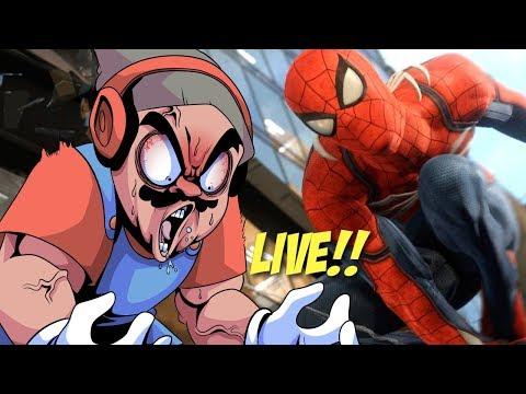 SPIDER-MAN TIME LIVE!!