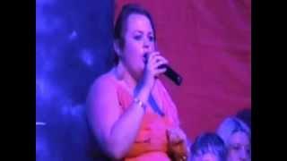 Gemma singing in Cape Verde