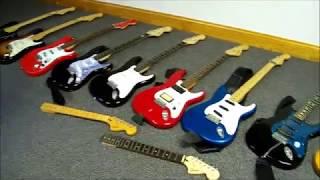 Fender Squier Guitar Neck Shootout - What's The Best??