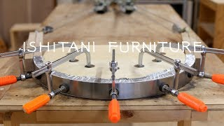 ISHITANI - Making a jig for bending wood. We are bending use iron heat in this time.