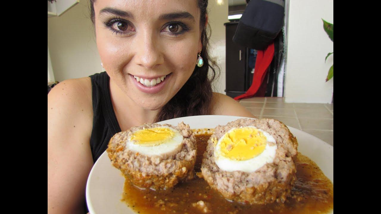 C mo hacer albondigas rellenas de huevo youtube - Como cocinar las setas ...