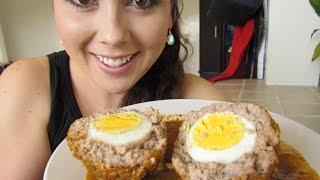 Cómo Hacer Albondigas Rellenas De Huevo
