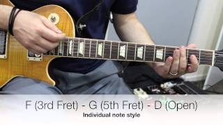Freak by Silverchair - How to play, Guitar Lesson and Tutorial
