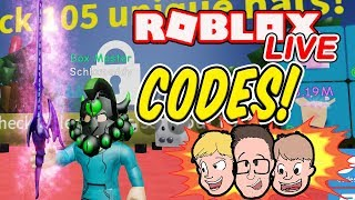 Unboxing Simulator Codes, Update & More | Roblox Charity Livestream Gameplay | Family Friendly 2019