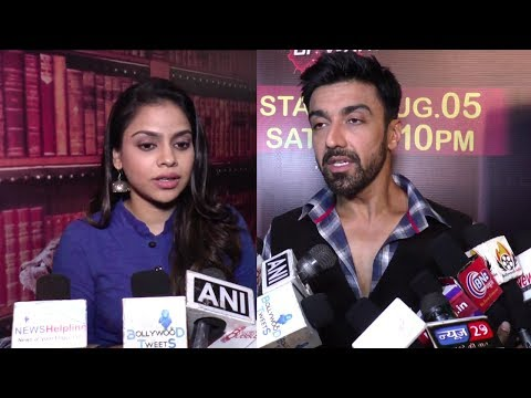 Aashish Chaudhary & Sumona Chakravarti at Press Meet Of Colors New Series