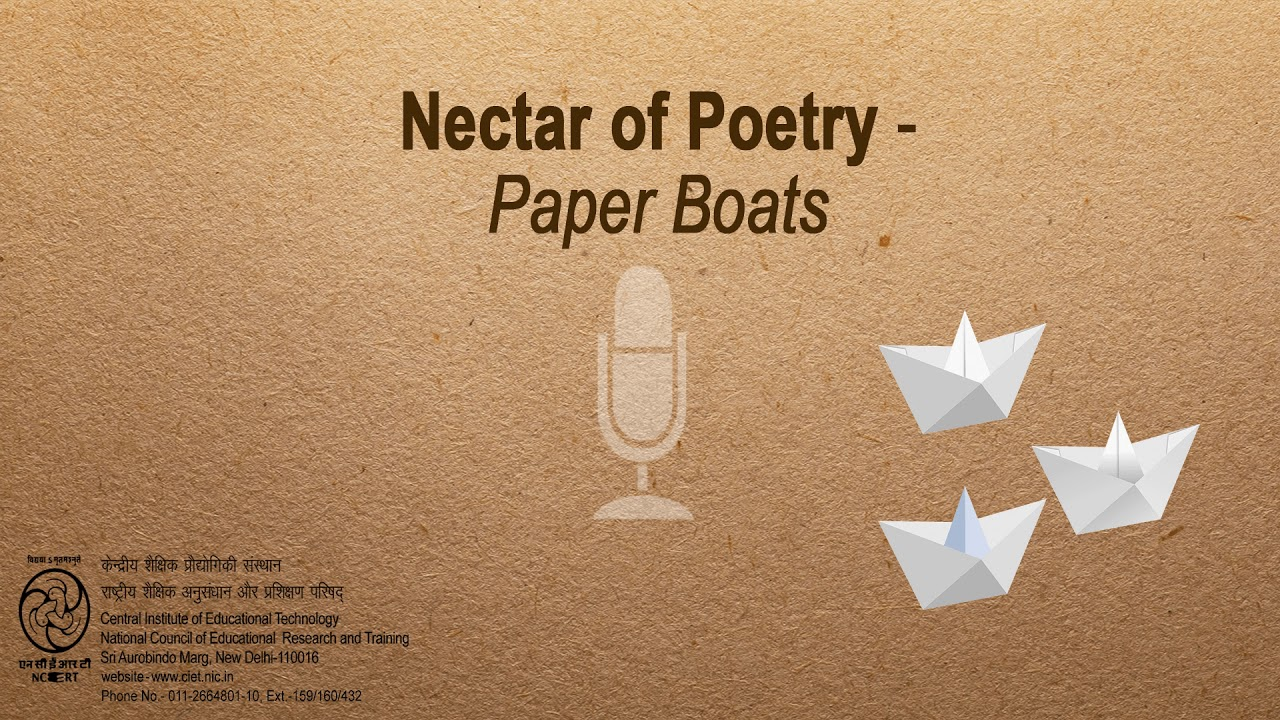 paper boat by tagore summary