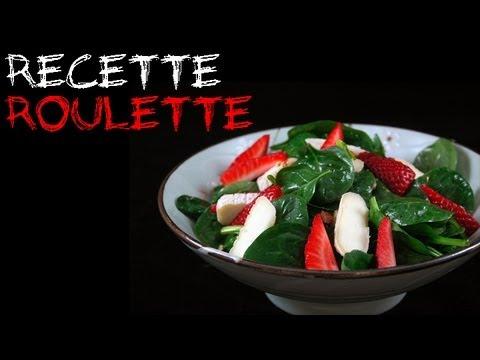 recette-:-salade-d'épinards,-fraises-et-chèvre