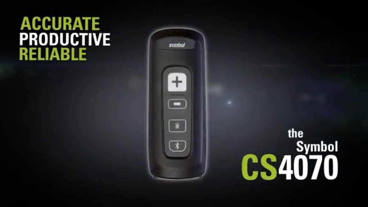 Motorola Symbol Cs4070 Sr Barcode Scanner Youtube