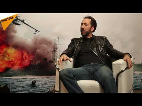Nicolas Cage Discusses Acting, Snowden and Russian Language With Sputnik