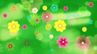 Flower animation Background Full HD free downlaod
