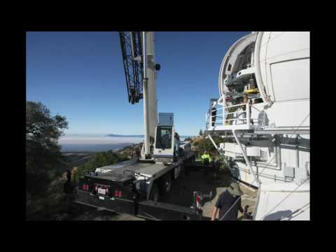 APF 2.4-m Aluminizing 2016-09-29
