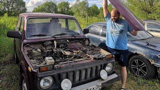 РУКАЖОПЫ РАЗОБРАЛИ Мотор НА НИВЕ!!! ЧТО БЫЛО ДАЛЬШЕ???!!!!