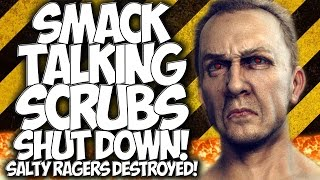 "COD BLACK OPS 3: SMACK TALKING SCRUBS SHUT DOWN!! SALTY RAGERS DESTROYED! ""BO3 TROLLING"""