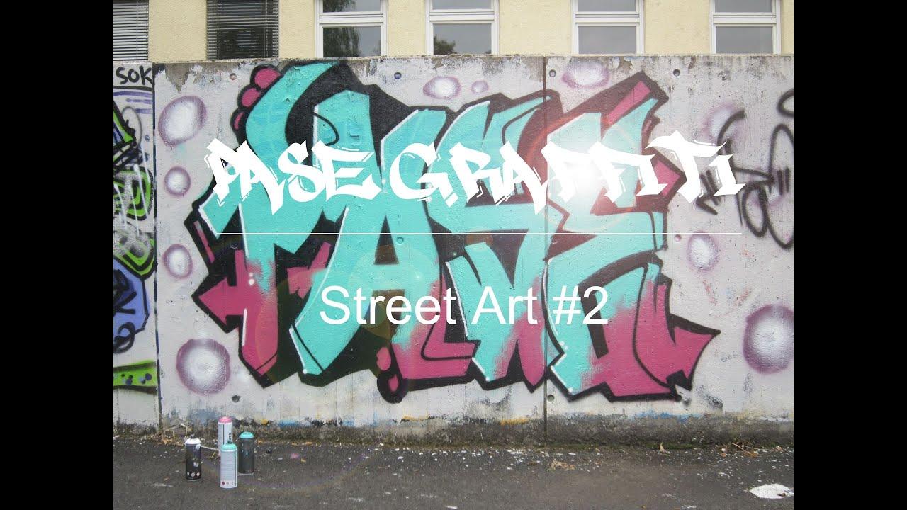 Graffiti pase street art 2 gopro
