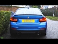 BMW M235i M Performance Exhaust Engine Sounds Cold Start Revs Hard Acceleration N55 M135i