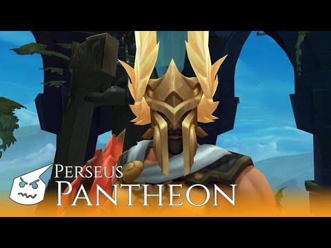 Perseus Pantheon.face