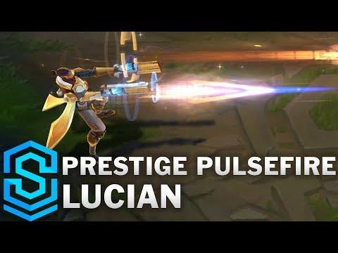Prestige Pulsefire Lucian Skin Spotlight - League of Legends