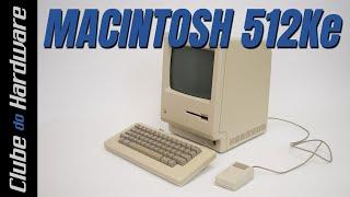 Bricando com um Macintosh 512Ke (1985)