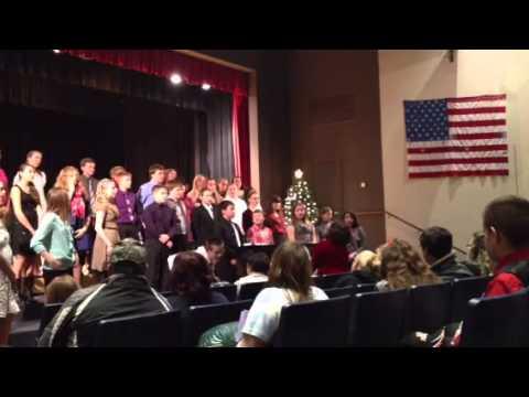 Milford central school winter concert 2013