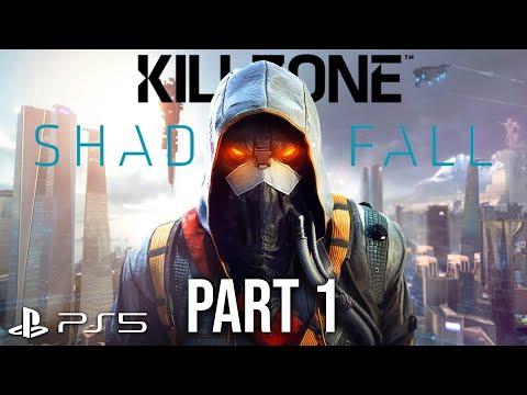 KILLZONE SHADOW FALL PS5 Gameplay Walkthrough Part 1 - INTRO (4K 60fps PlayStation 5)