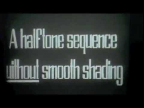 first ever 3d animation (40 year old 3d computer graphics pixar 1972)