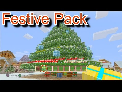 Christmas Minecraft World.Minecraft Festive Texture Pack Christmas Texture Pack Ps3 Brand New