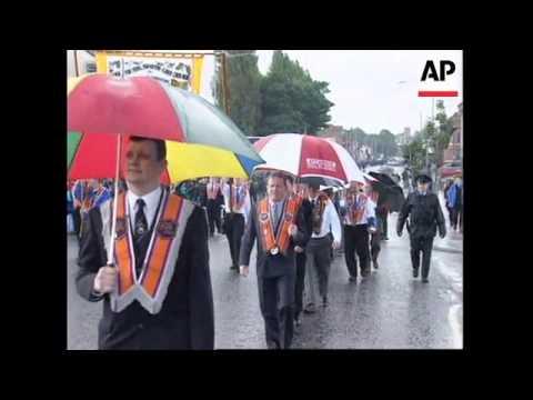 N. IRELAND: ORANGE ORDER ORMEAU ROAD MARCH PASSES PEACEFULLY