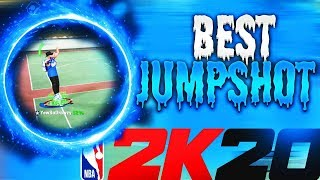 NEVER MISS A SHOT AGAIN! THE BEST JUMPSHOT IN NBA 2K20! GREE…