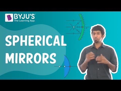 Spherical Mirrors | Learn With BYJU'S