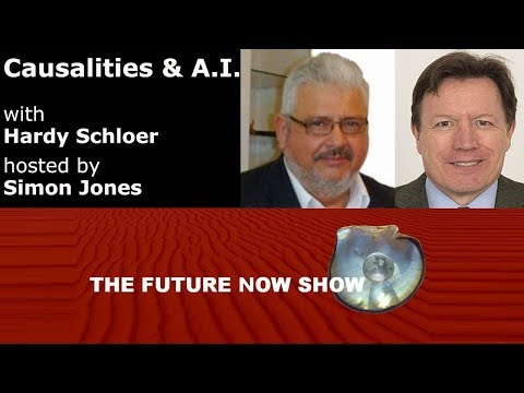 Causalities and AI with Hardy Schloer hosted by Simon Jones - The Future Now Show