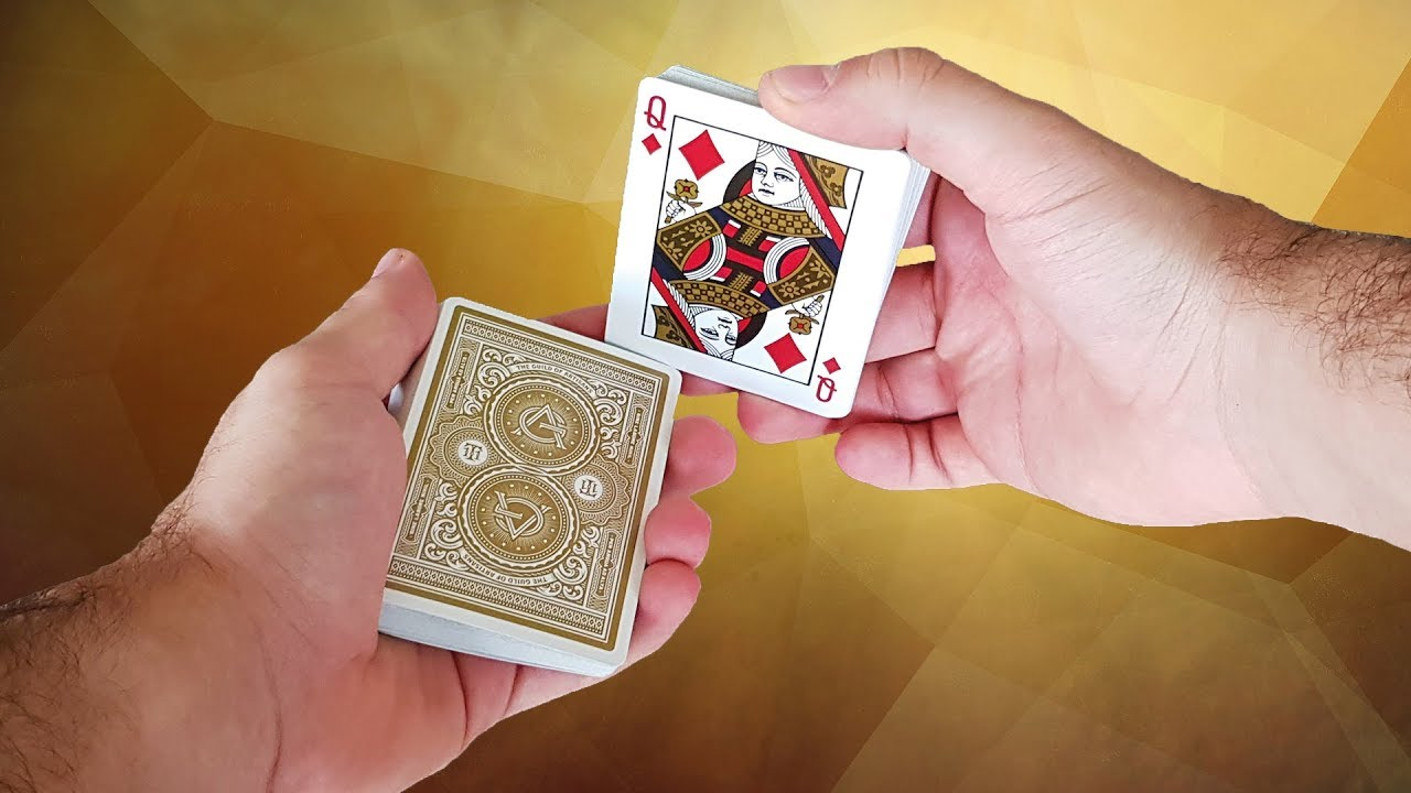 guess what ?! amazing card trick tutorial youtube
