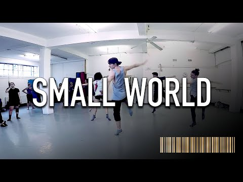 SMALL WORLD - Idina Menzel Dance ROUTINE Video | Brendon Hansford Choreography