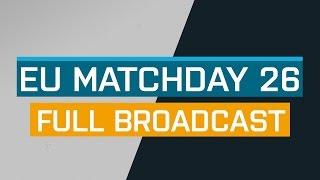 Full Broadcast - EU Matchday 26 B - ESL Pro League Season 5 - VP G2 | fnatic Astralis