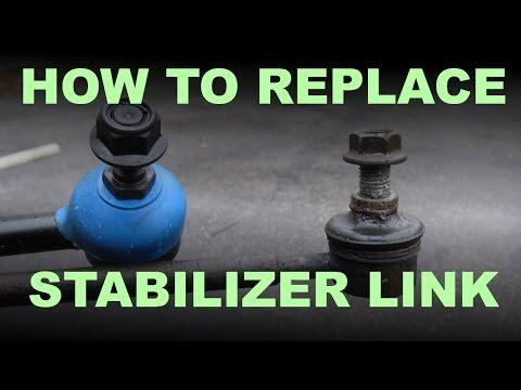 Sway Bar Link Replacement - Toyota /  Lexus