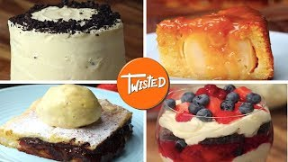 10 Delicious And Impressive Desserts | Dessert Recipes For Holiday Parties | Twisted
