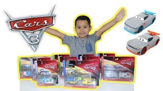 UNBOXING NEW 2018 Disney CARS diecast cars, Disney cars toys,Next Gen Racers