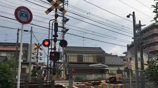 東武野田線新柏〜柏間にある様々な踏切を撮影