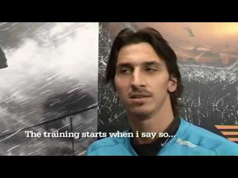 Zlatan Ibrahimovic jokes in a funny interview