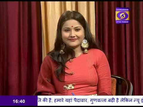"Talk on ""New Hope in New Year in Play"" in morning show #NamasteUP - 2"