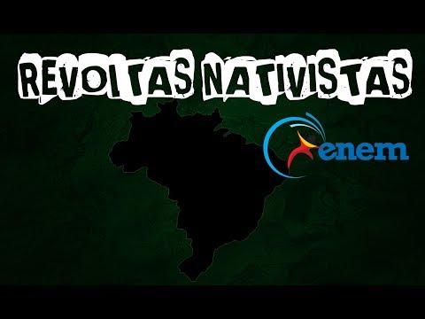 Enem: REVOLTAS NATIVISTAS PARA O ENEM (História do Brasil) Aula #6 (ProUni)